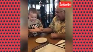Happy father's day! Funny baby dad moments