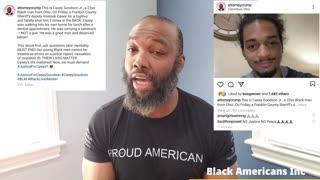 Police shoots a black man