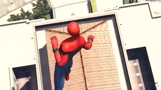 Spiderman vs Bob sponje