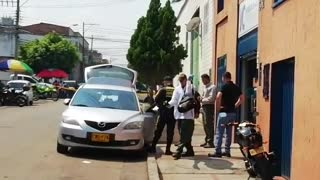 Hombres se salvaron de un atentado de sicarios este lunes en Bucaramanga