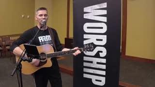 Chaplain Morgan singing God With Us