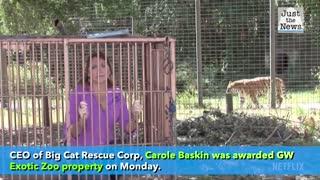 "Carole Baskin wins ""Tiger King's"" Zoo"