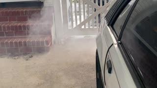 1986 Mustang GT Smoking