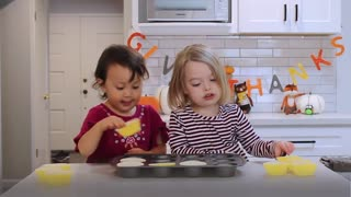 Thanksgiving by toddlers