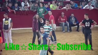Dangerous Bull Fight Accidents Compilation 2020 || Funny And Lucky People fails