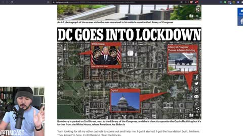 """DC Buildings EVACUATED After Man Makes Threats, Says """"Revolution Starts Today,"""" Surrenders To Police"""