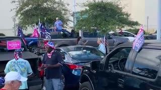 Trump Car Rally Flagler County Fl