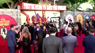 """Hollywood stars attend """"The Suicide Squad"""" premiere"""