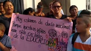 Protesta por educacion