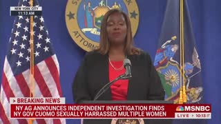 BOMBSHELL NY AG Report: Gov. Cuomo Sexually Harassed Multiple Women..!!
