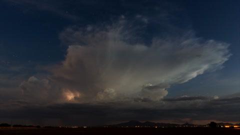 Stunning time lapse: Arizona monsoon storms