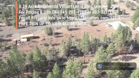 0.29 Acre Residential Vacant Lot in Bley, Oregon
