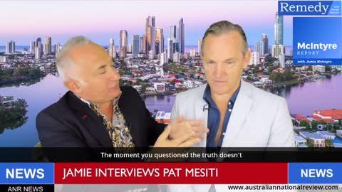 Episode 053 - Jamie Interviews Author and Former Pastor Pat Mesiti, Part 1 - Subtitled Version