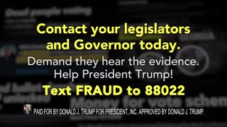 President Trump Campaign Advert On Mainstream Media LYING About Election Fraud
