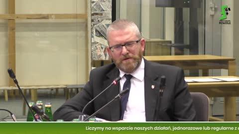 Grzegorz Braun: 20.07.2021 - Komisja Regulaminowa Sejmu w/s blokowania wypowiedzi posła bez maseczki