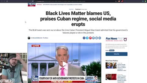 BLM Issues Statement Of Support For Cuban Communist Dictatorship, Blames US For Communist FAILURE
