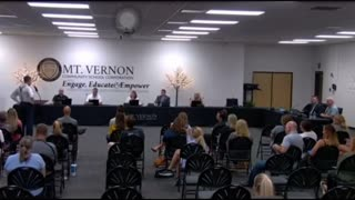 Mount Vernon Community School Board Meeting 1