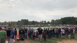 New Hampshire Grass drags water racing