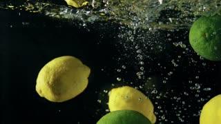 delicious lemon slow motion