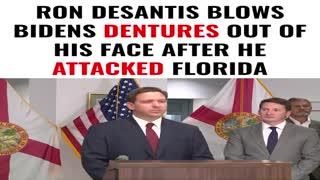 """Ron Desantis to Biden """"DO YOUR JOB"""""""