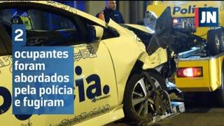 Detido em contramão após perseguição policial no centro do Porto