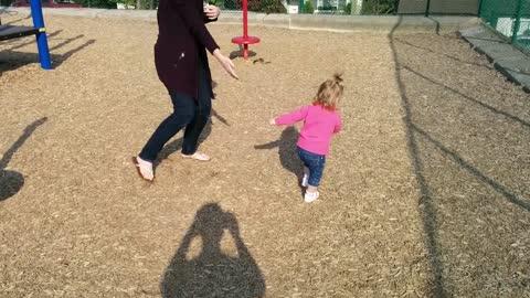 Little girl is adorably dizzy