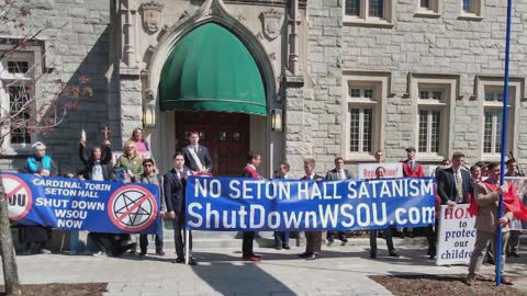 NJ Catholics to pray rosary of reparation for Satanic radio station in Cardinal Tobin's diocese
