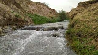 Fresh river water