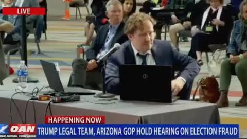 Arizona Voter Fraud By Business Data Expert