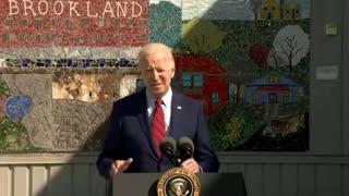 Joe Biden just being a good guy?