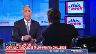 Joe Walsh launches primary challenge