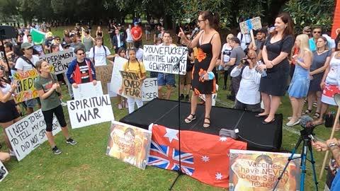Millions March Melbourne - Failed Politician