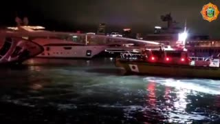 Un yate que pertenece al cantante Marc Anthony se incendia en Miami