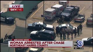 High Speed Police Chase, Suspect Evades Multiple Blockades