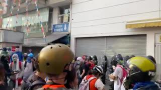 Protesta Èxito Centro Bucaramanga