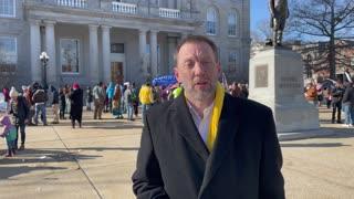 JR Hoell Speaks At Anti-Sununu Inauguration Rally