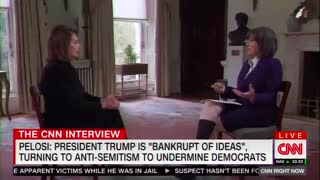 Pelosi pushes back on accusations of anti-Semitism in Democratic Party.