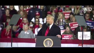 TRUMP'S MESSAGE FOR FAKE NEWS MEDIA TO END VICTORY RALLY! 'IT WAS A HORRIBLE PROTEST!!!!'