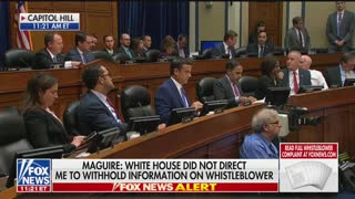 Ratcliffe questions acting DNI in whistleblower hearing