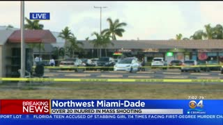 2 Dead, Over 20 Injured In NW Miami-Dade Mass Shooting