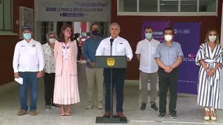 Inicio el plan de vacunación en Colombia
