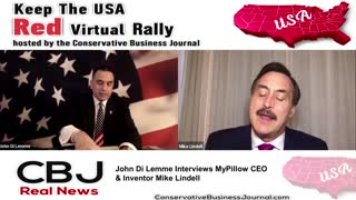 Mike Lindell, My Pillow C.E.O. shares His Message of Hope and inspiration for Entrepeneurs!