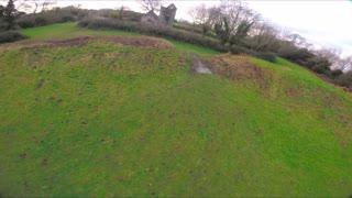 UK abandoned church FPV Drone