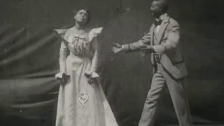 First on-screen African-American kiss rediscovered