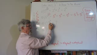Math Index Laws or Exponents Set A 06 Index Law 3 Mostly for Years/Grade 7 and 8