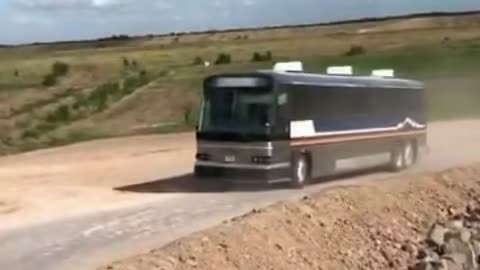 Bus Carrying Illegal Aliens Into US From Border In Texas