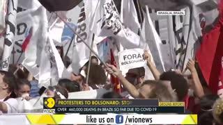 Brazil: thousands protest against President bolsonaro's covid response