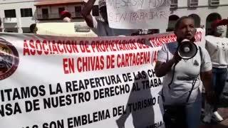 Protesta Asociación de Chivas