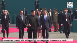 North Korea announces it will cease all communication with the South