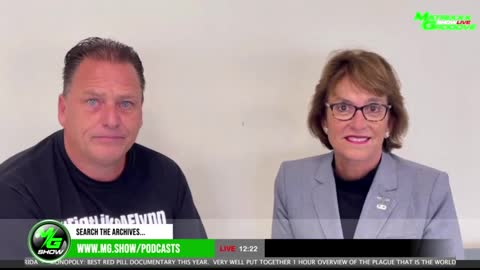 Sen. Wendy Rogers Talks About the Audit and Critical Race Theory on the MG Show